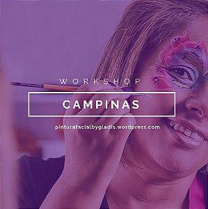 Workshop de Pintura Facial Iniciante em Campinas