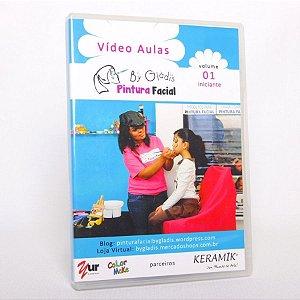 DVD VÍDEO AULA| PINTURA FACIAL INICIANTE BY GLADIS