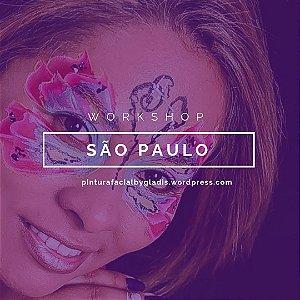 Workshop de Pintura Facial Iniciante em São Paulo