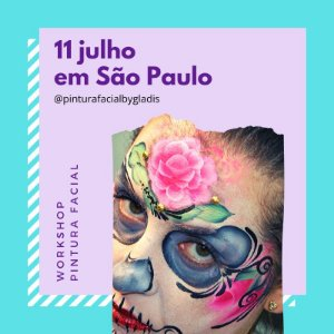 SP Turma 3 - Workshop Pintura Facial Iniciante