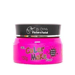 Gel Fluorescente para Cabelo Color Make 150 gr | Rosa - Pink Neon