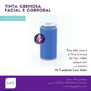 Tubo Tinta Cremosa Facial e Corporal Maquiagem Artística Color Make 20 gr | Azul