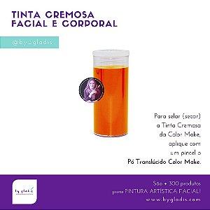 Tubo Tinta Cremosa Facial e Corporal Maquiagem Artística Color Make 20 GR | Laranja
