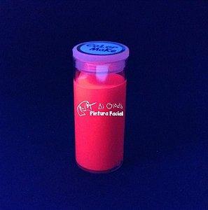 Tubo Tinta Cremosa Facial e Corporal Maquiagem Artística Flúor Color Make 20 gr | Vermelho - Vermelha