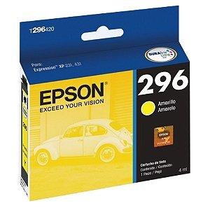 Cartucho Epson T296420 | XP-231 Amarelo Original 4ml