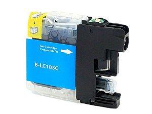 Cartucho para Brother LC103C | MFC-J6720DW Ciano Compatível