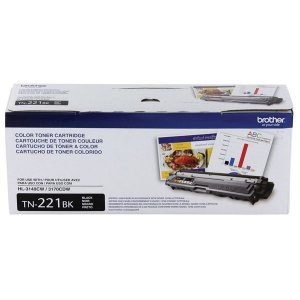 Toner Brother HL 3170CDW, MFC 9330CDW, TN221, TN 221BK Preto Original