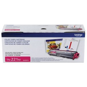 Toner Brother TN 221, TN 221M, HL 3140CW, HL 3170CDW, MFC 9330CDW Magenta Original