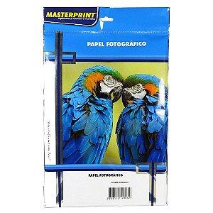 Papel Fotográfico Adesivo, A4, 130g, Glossy, Brilhante, Prova d'agua