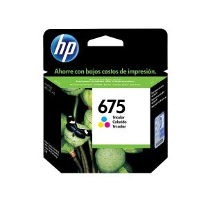 Cartucho HP 4000 | HP 675 | CN691AL Officejet Original 5ml