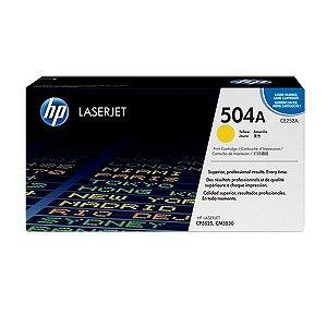 Toner HP CP3525n | CP3525 | CP3525x | CE252A Amarelo Original