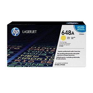 Toner HP CP4025n | CE262A | CP4525xh Laserjet Amarelo Original