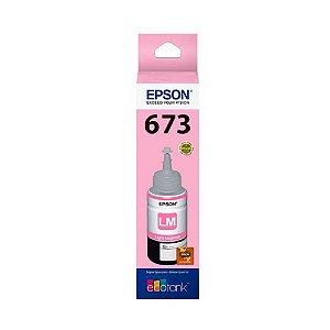 Tinta Epson L1800 | 673 | T673620 Magenta Claro Original 70ml