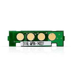 Chip Samsung M2835DW | SL-M2835DW | MLT-D116L | D116L Laser Preto para 3.000 páginas