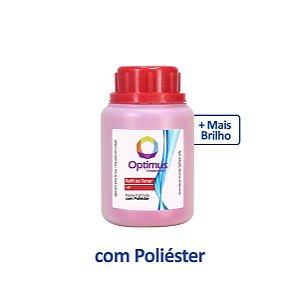 Refil de Pó de Toner Samsung CLX-3305W   3305   CLT-M406S Magenta Optimus 50g