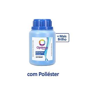 Refil de Pó de Toner Samsung CLX-3305W | 3305 | CLT-C406S Ciano Optimus 50g