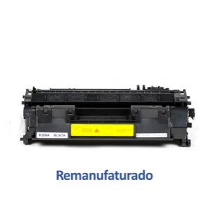Toner HP 05A | 505 Laserjet Remanufaturado para 2.300 páginas