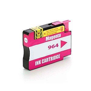 Cartucho HP 964XL | HP 964 | 3JA55AL OfficeJet Pro Magenta Compatível