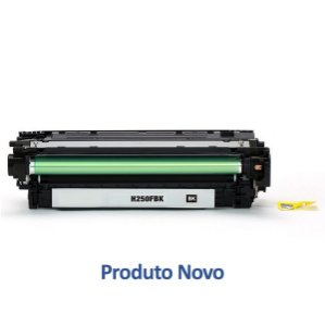Kit 4 Toner para HP CP3525n | 504A | CE250A CMYK Compatível