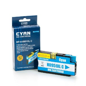 Cartucho HP 8100 | 8610 | HP 951XL Ciano Compatível 19,50ml