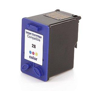 Cartucho para HP 3845 | HP 3745 | HP 28XL Colorido Compatível 14ml