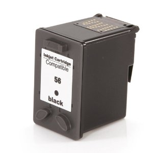 Cartucho para HP 5550 | HP 450 | HP 56XL Preto Compatível 19ml