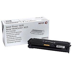 Toner Xerox 3020 Phaser 3025 | 106R02773 Preto Original