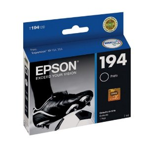 Cartucho Epson 194| XP-214 | XP-204 Expression Preto Original 4ml