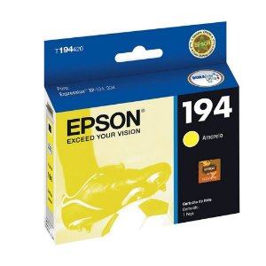 Cartucho Epson Expression XP-214 | XP-204 | T194420 Amarelo Original 3ml