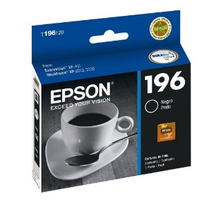 Cartucho Epson 196 | XP-411 | XP-204 Expression Preto Original 5ml