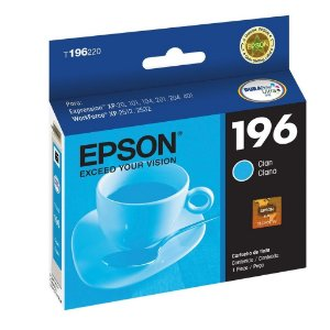 Cartucho Epson XP-214 | XP-401 Expression 196 Ciano Original 4ml