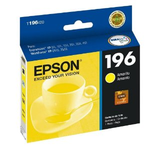 Cartucho Epson XP-401 | XP-214 Expression 196 Amarelo Original 4ml