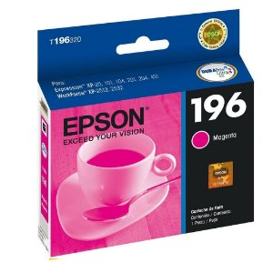 Cartucho Epson XP-204 | XP-411 Expression 196 Magenta Original 4ml