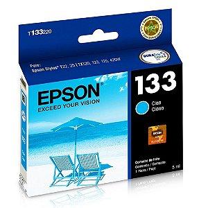 Cartucho Epson TX135 | TX320F | TX120 | 133 | T133220 Ciano Original