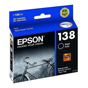 Cartucho Epson TX420W | TX125 | TX320F| 138 | T138120 Preto Original