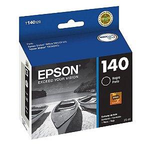 Cartucho Epson TX620FWD | WF-3012 | 140 | T140120 Preto Original