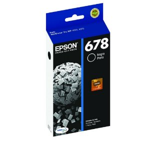 Cartucho Epson WorkForce Pro 4592 | 678 | T678120 Preto Original