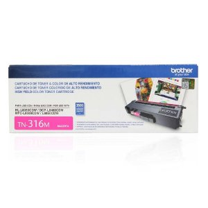 Toner Brother DCP-L8400CDN | MFC-L8600CDW | TN-316M Magenta Original