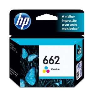 Cartucho HP 1516 | HP 3515 | HP 662 Colorido Original 2ml