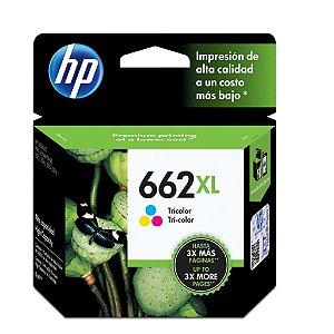 Cartucho HP 4646 | HP 2516 | HP 662XL Colorido Original