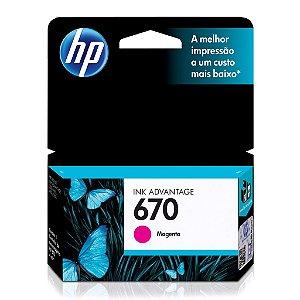 Cartucho HP 4615 | HP 5525 | HP 670 Magenta Original 3,5ml