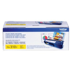 Toner Brother HL-4570CDW | MFC-9460CDN | TN-310Y Amarelo Original