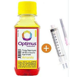 Tinta para Cartucho HP X585F | HP 980 | X555XH | D8J09A Amarela Pigmentada