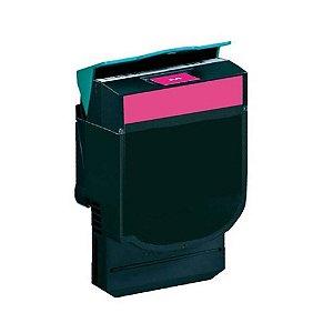 Toner Lexmark C540n | C540 | X544n | C540H1MG Magenta Compatível