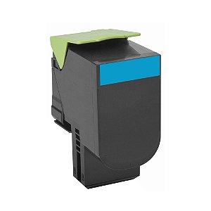 Toner Lexmark CS510de | CS410dtn | 70C8HC0 Ciano Compatível