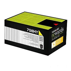 Toner Lexmark CS410dtn | CS510de | 70C8HY0 Amarelo Original