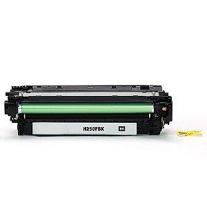 Toner para HP CP3525 | CE250X | 504X LaserJet Preto Compatível