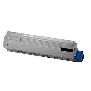 Toner para Okidata C831 | C841n | 44844512 Preto Compatível