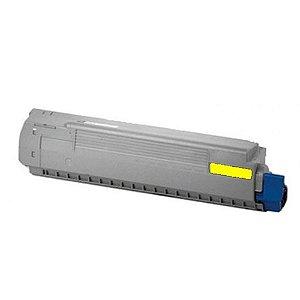 Toner para Okidata C831dn | C841cdtn | 44844509 Amarelo Compatível