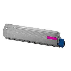 Toner para Okidata C841 | C831 | 44844510 Magenta Compatível
